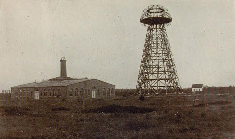 """La gran torre de Tesla """"Wardenclyffe"""""""
