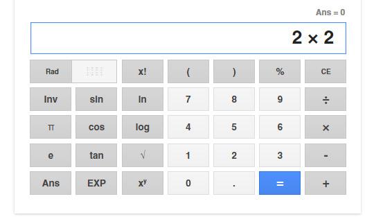 googlesearch calculator