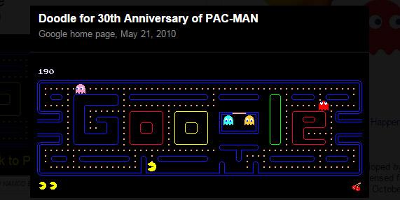 googlesearch pac man