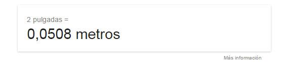 googlesearch pulgadasamts
