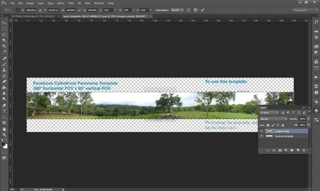 Photoshop imagen 360