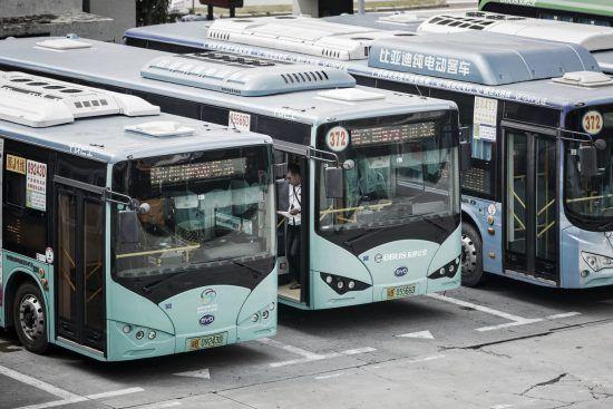 Autobuses eléctricos China
