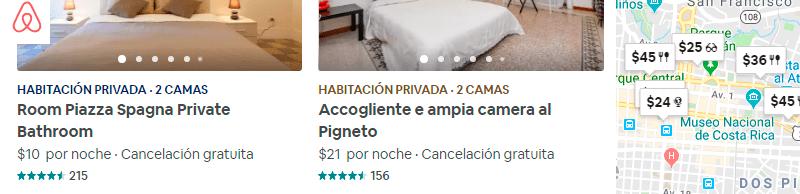 Planifica tus vacaciones con Airbnb
