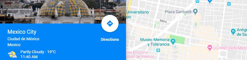 Planifica tus vacaciones con Google Maps