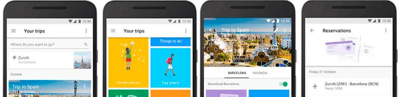 Planifica tus vacaciones con Google Trips