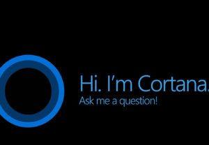 Activar Cortana